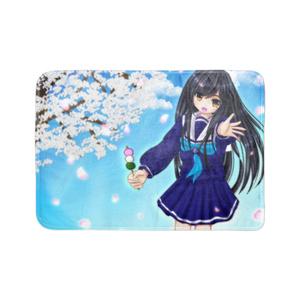 桜とひなちゃんのブランケット