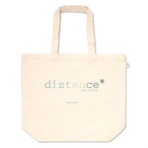 distance* tote bag