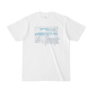 ぼにふぁみTシャツ:海-線