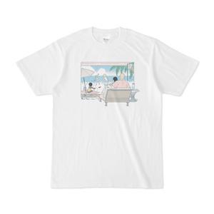 ぼにふぁみTシャツ:海-カラー