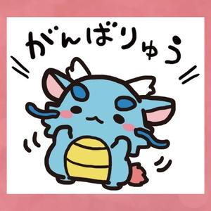 東洋竜さん/ステッカー