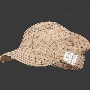 ワークキャップ 3Dモデル<フォトグラメトリ>