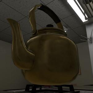 【3Dモデル】やかん / Japanese Kettle