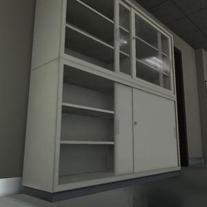 【3Dモデル】ファイルキャビネット / File Cabinet