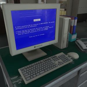 【3Dモデル】昔のパソコン / Old PC