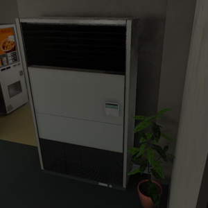 【3Dモデル】業務用エアコン / Air Conditioner