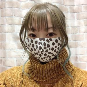 布マスク【ヒョウ柄4種類】