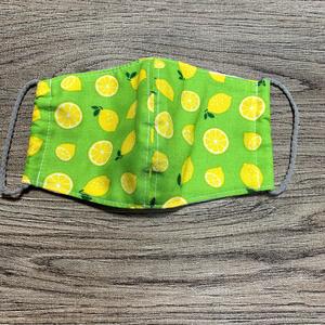 布マスク【レモン柄・5種】