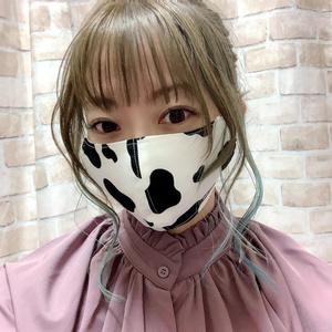 2021🐄牛柄 布マスク!