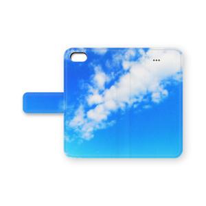 BLUE SKY(ブルースカイ) 手帳型iPhoneケース