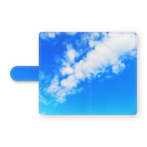 BLUE SKY(ブルースカイ) 手帳型Androidケース