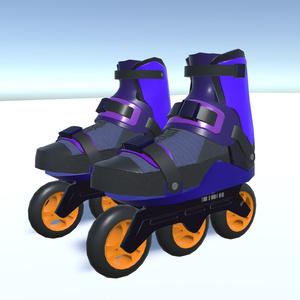 [3Dモデル]インラインスケート
