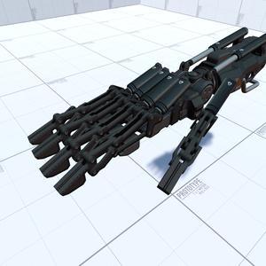 [3Dモデル]メカニカル義手