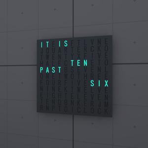 [VRChat想定]ワードクロック(Word clock)