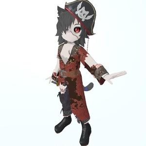 ぞんねこ(海賊服)