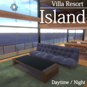 【VRC向けワールド】Villa Resort: Island【2019、SDK3対応済み】