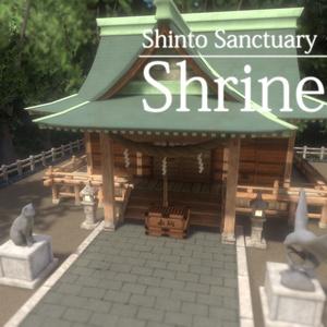 【VRC向けワールド】Shinto Sanctuary: Shrine【2019版対応済み】