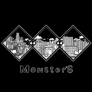 Monster'Sトートバッグ『city』