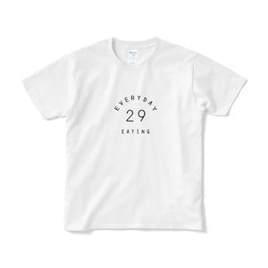 毎日食べたい肉 カレッジロゴTシャツ
