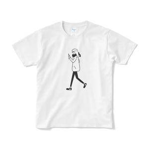 ガール #2 イラストTシャツ