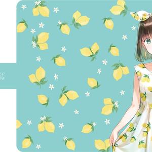手帳型スマホケース「Lemon」
