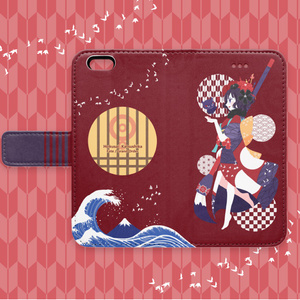 Fate / 北斎ちゃん iPhone手帳型ケース