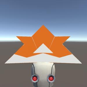 【3Dモデル】こどもの日!折り紙 かぶと