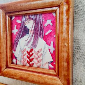 ミニ原画*「pink」