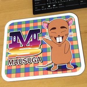 【ビッグサイズ】マウスガ マウスパッド 【ネズミ キャラクター】
