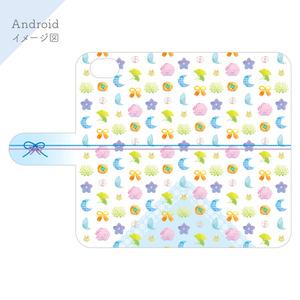 〈歌仙兼定&小夜左文字イメージ〉手帳型スマホケース【iPhone/Android】