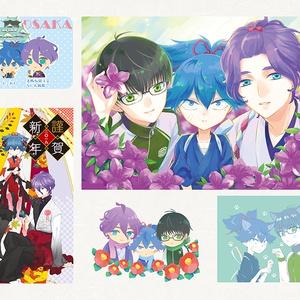 栞-SHIORI- 2015-2020Illustbook【あんしんBOOTHパック版】