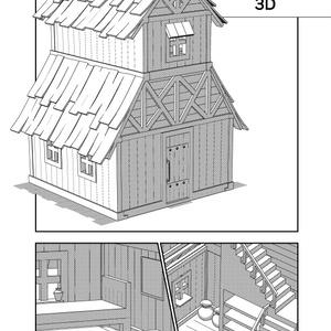 ファンタジーな2階建ての家