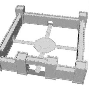 城壁の区画