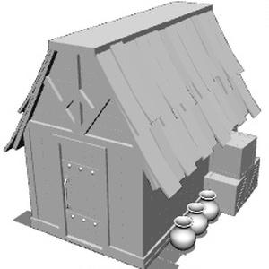 ファンタジーな小屋みたいな家