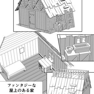 ファンタジーな屋上のある家