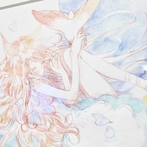 原画* 春めく少女 *