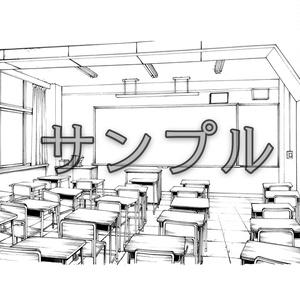 学校/教室セット