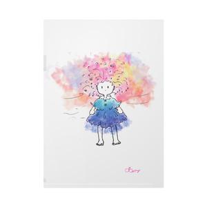 「スプーンひとつ浮かせられないで/春の妖精」クリアファイル