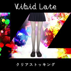 【Vroid用テクスチャ】Vibid Late クリアストッキング