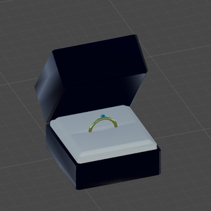 (無料)指輪ケース