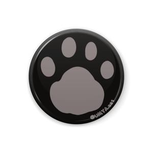 缶バッジ32mm_黒猫さん