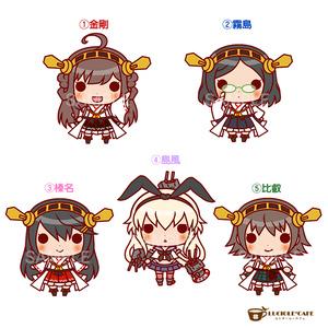 艦隊これくしょん・ちびキャラステッカー【金剛姉妹・島風】