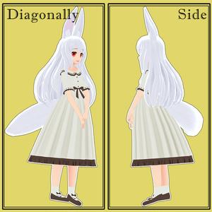 オリジナル3Dモデル  『シュシュ』