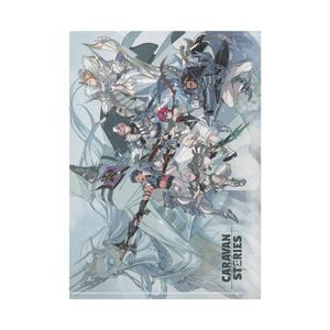 (12/25公開)クリアファイル白爪騎士団新キービジュアル