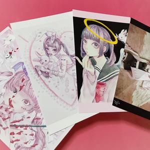 オリジナルポストカード♥4枚セット