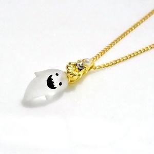 ◆英殿◆ちっちゃいオバケのネックレス