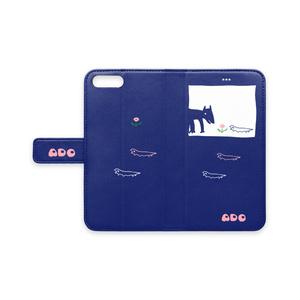 ノワール&リザスマホケースiPhone8plus