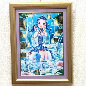 【額入原画】水まんじゅう乙女【満珠】一点物