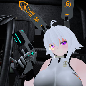 【VRchat向け】MCF sci-fi ガンセット