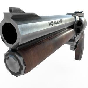 【VRchat想定】MCF BOリボルバー M1358